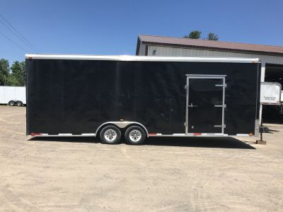 2012 26 ft enclosed trailer very nice!