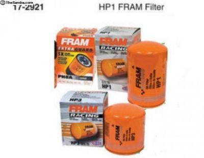 FRAM VW Bug Buggy Sand Rail, Oil Filter HP1 17-29