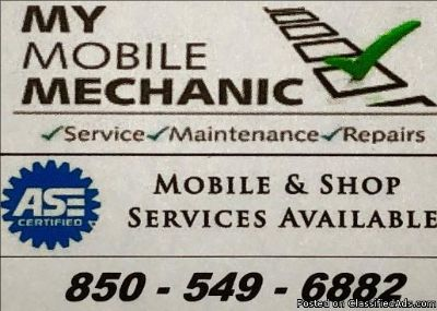 """Mobile Mechanic """"Dealer Quality with Mobile or In Shop Convenience"""""""