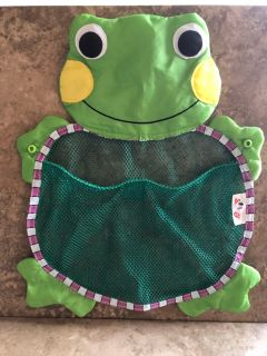 Frog Tub Toy Organizer
