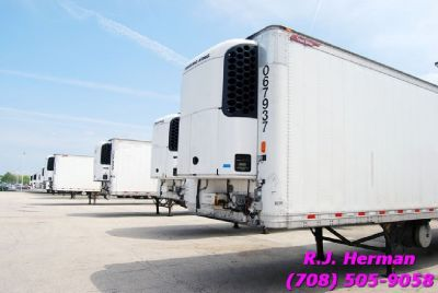 2010 48ft X 102in Great Dane Refrigerated Trailers (3) Available