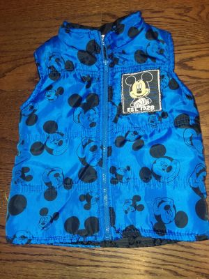3t Disney Mickey mouse puff vest