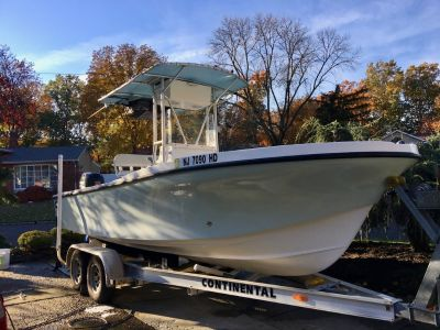 SOLD - 2008 Dusky 203(227) Open Fisherman w/ Suzuki 175 For Sale