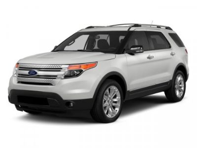2015 Ford Explorer XLT (White)