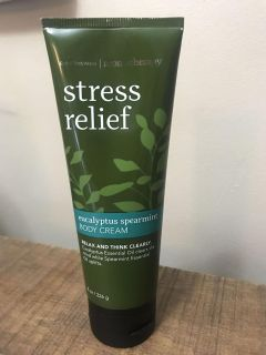 Bath and Body Stress relief lotion