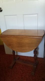 Very cool Fold down Antique Vintage Table