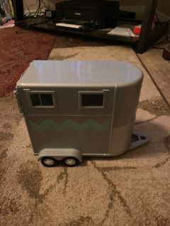 Lori horse trailer - ppu (near old chemstrand & 29) or PU @ the Marcus Pointe Thrift Store (on W st)