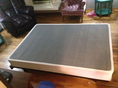 Full side box spring and Hollywood frame