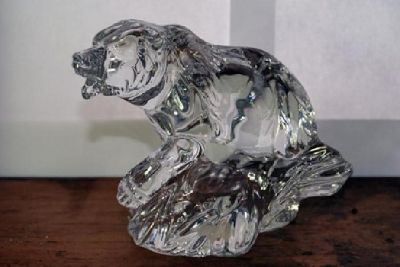 $65 OBO Princess House Lead Crystal Bear