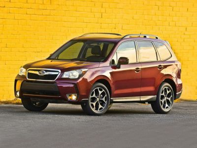 2016 Subaru Forester 2.5i Limited (Quartz Blue Pearl)