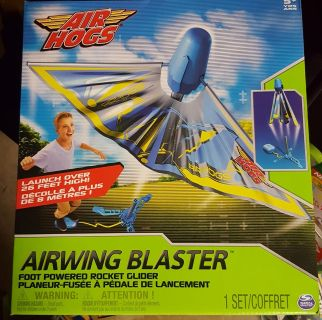New in box, airhogs airwing blaster toy