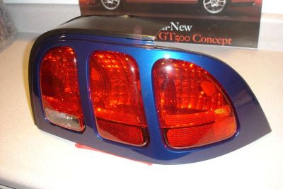 Buy 96 97 98 MUSTANG PASSENGER RIGHT REAR TAILLIGHT ASSEMBLY NOS PACIFIC BLUE motorcycle in Lebanon, Tennessee, US, for US $75.00