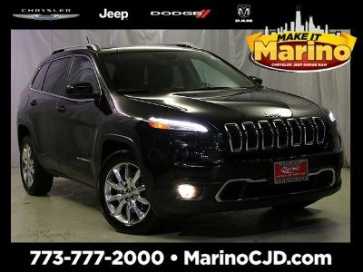 2014 Jeep Cherokee Limited (black)