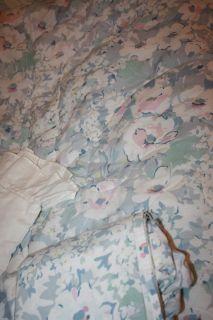 Twin comforter set, pastel floral