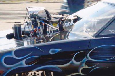 Chevy Malibu Wagon Top Sportsman Drag Car
