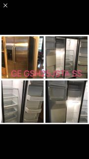 GE Side by Side Stainless refrigerator GSH25JSTA SS