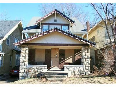 3 Bed 1 Bath Foreclosure Property in Kansas City, MO 64130 - Olive St