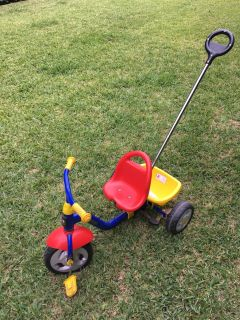 Kettler Kids Tricycle with removable bucket