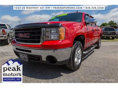 2009 GMC Sierra 1500 SLE (Red)