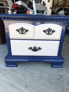 Small dresser/side table