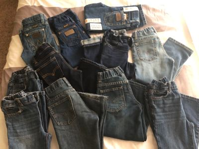 Size 4t verity of jeans