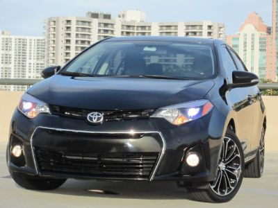 *** 2015 TOYOTA COROLLA S PLUS CLEAN TITLE,CARFAX,1 OWNER,15K MILES,LIKE NEW ***