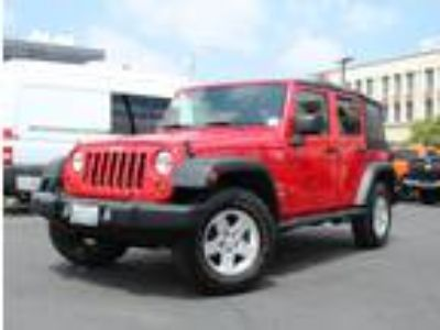 Used 2010 Jeep Wrangler Unlimited Flame Red, 100K miles