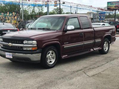 2000 Chevrolet Silverado 1500 Base (Maroon)