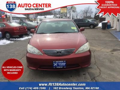 2005 Toyota Camry XLE V6 (Salsa Red Pearl)