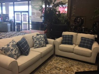 ADDERBURY SOFA/LOVESEAT BY ASHLEY