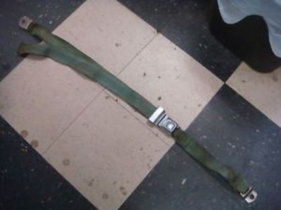 Purchase ORIGINAL 67 - 70 SHELBY FORD MUSTANG SEAT BELT 1 REAR SEATBELT IVY GREEN motorcycle in Fresno, California, United States, for US $100.00