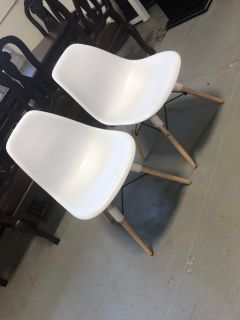 White Chairs (Sold as set)