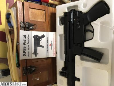 For Sale: H&K SP 89