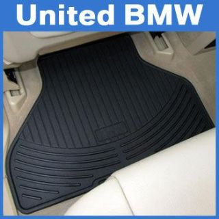 Purchase BMW All Weather Rear Rubber Floor Mats X5 (2000-2006) - Black motorcycle in Roswell, Georgia, US, for US $45.00