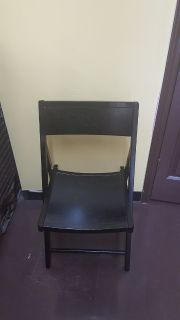 World Market Expresso Folding Chair
