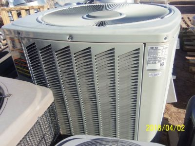 York ARI / Rheem 4 Ton Air Conditioner Heat Split System Unit