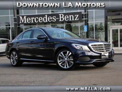 2016 Mercedes-Benz C-Class (LUNAR BLUE META)