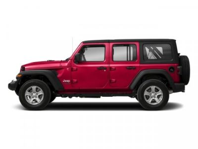 2018 Jeep Wrangler Unlimited Sahara (Firecracker Red Clearcoat)