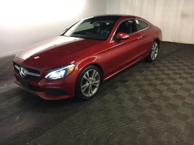 2017 Mercedes-Benz C-Class C 300 4MATIC Coupe (designo Cardinal Red Metallic)