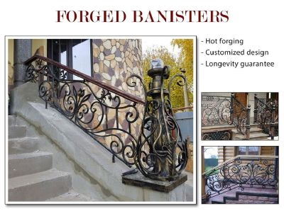 Forged Banisters