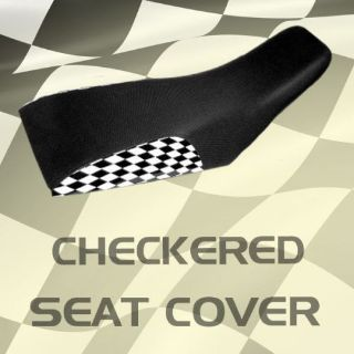 Buy Yamaha Raptor 50 Checkered Seat Cover #kkk16604 oie8614 motorcycle in Milwaukee, Wisconsin, United States, for US $39.99