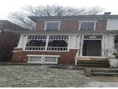 3 Bed 1 Bath Foreclosure Property in Baltimore, MD 21216 - N Hilton St