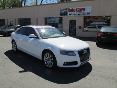 2012 Audi A4 2.0T Premium (White)