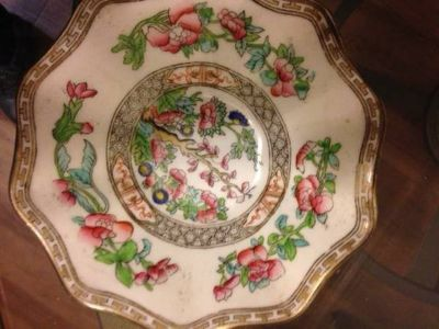 "Beautiful Coalport ""INDIAN TREE"" SMALL BOWL OR PIN/CANDY DISH"