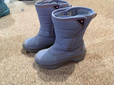Girls lands end winter boots size 1