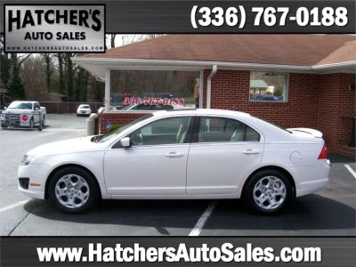 2012 Ford Fusion SE (PEARL WHITE)