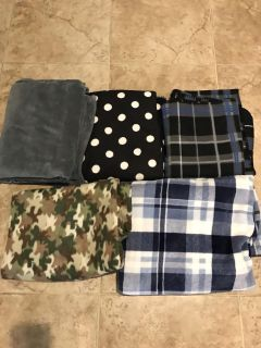 5 couch throw blankets