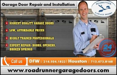 Get Discount on Storage Garage Door Repair in Frisco, TX | Starting $26.95