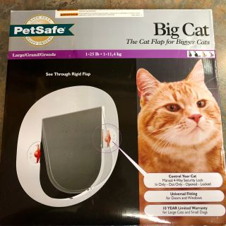 Big Cat Flap/Door