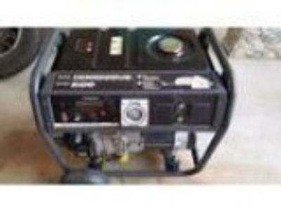 Briggs andStratton power generator W . HP